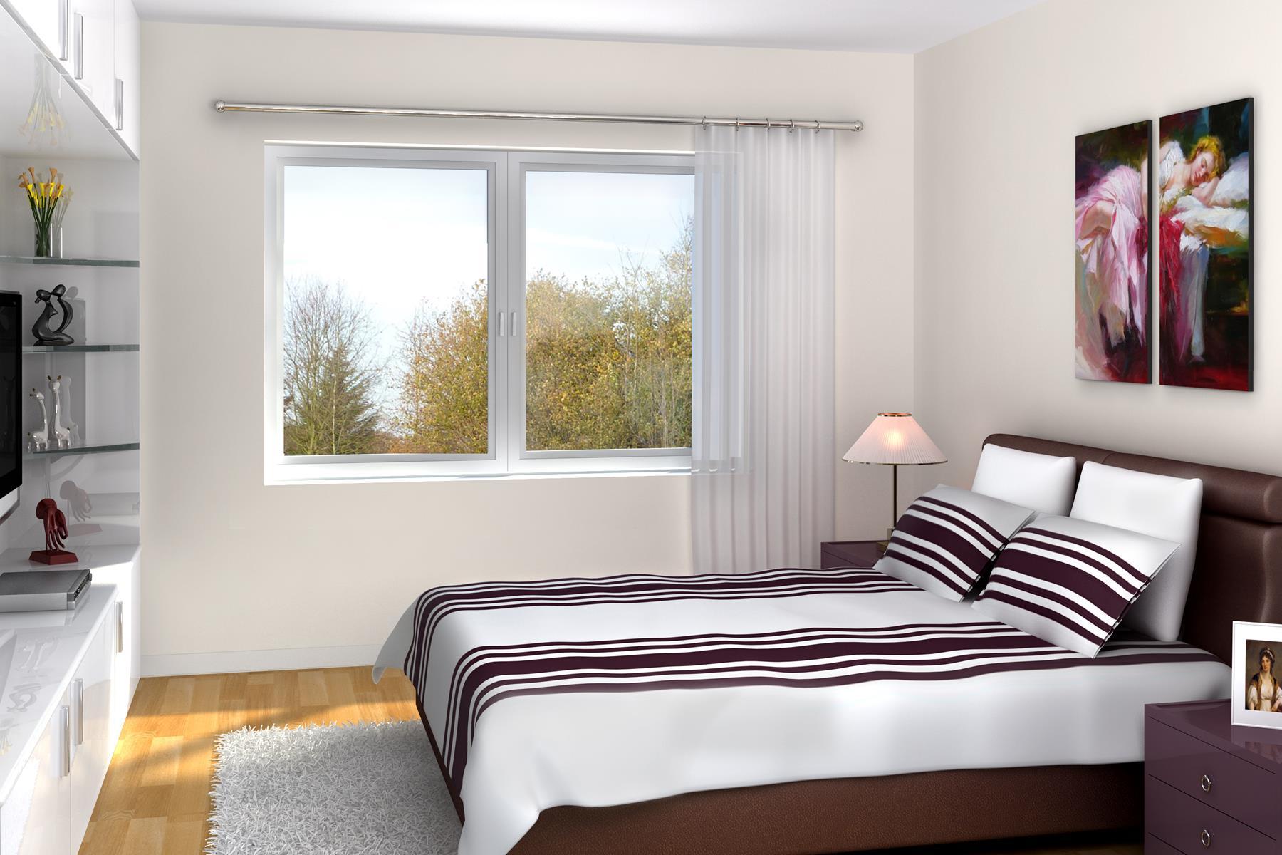 Schlafzimmer Gestaltungsvariante