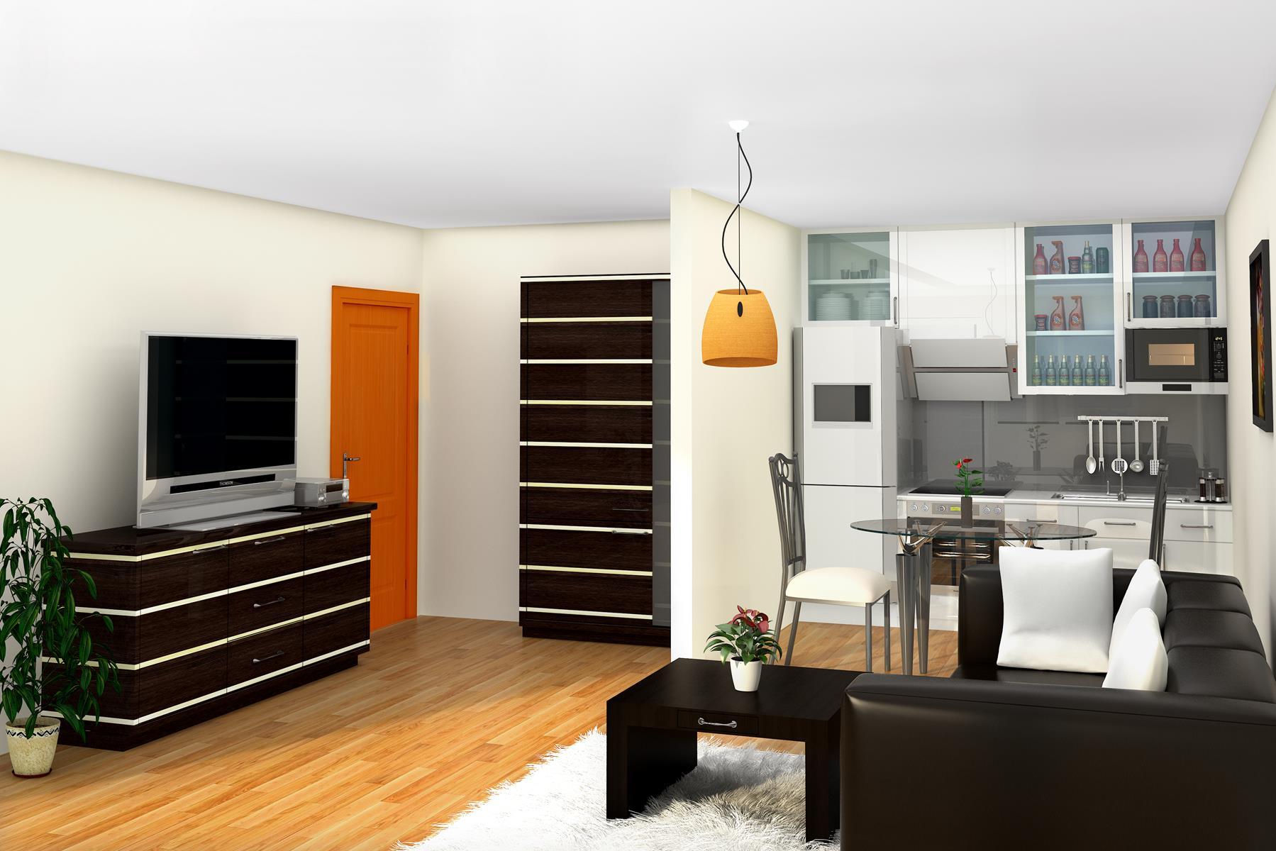 1.Wohnzimmer 1 Gestaltungsvariante